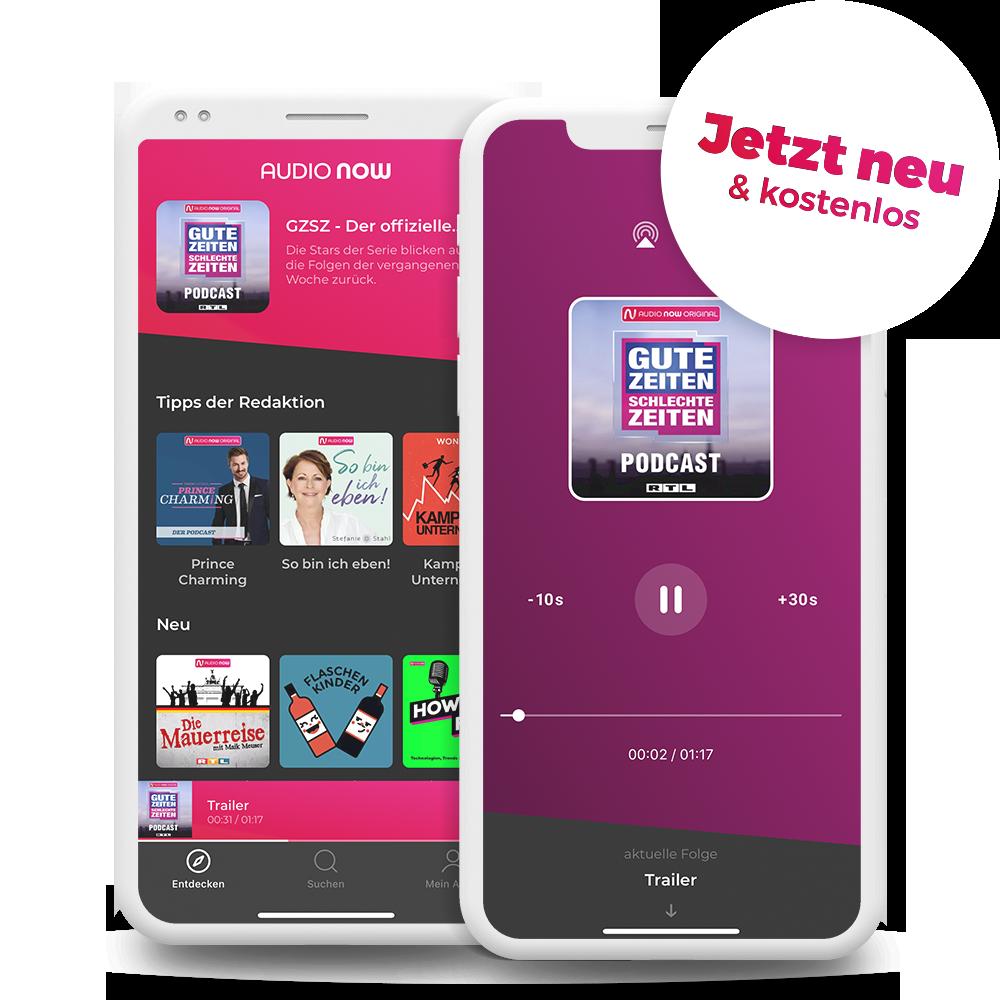audio now app screenshots